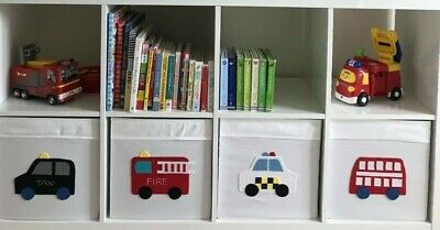 Car Transport Decoration Stickers For Ikea Kallax Cube Storage Boxes 5 00 Picclick Uk