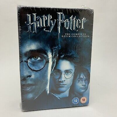 Harry Potter - Complete 8 Film Collection Boxset Years 1 - 7 DVD Box Set - New