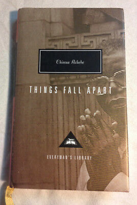 Things Fall Apart by Chinua Achebe (1995, Hardcover, Very Good+)