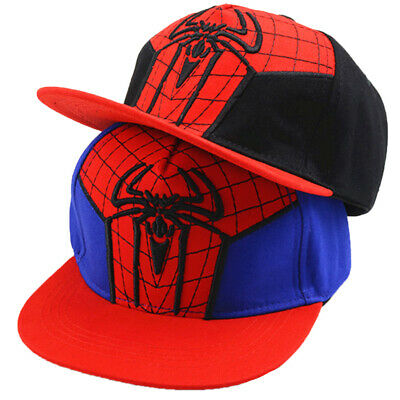 84f8c8a37245af Toddler Boy Girl Kids Cartoon Spiderman Baseball Cap HipHop Snapback Sun Hat