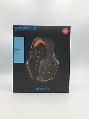 Logitech G231 Prodigy Wired Gaming Headset (Free Postage)