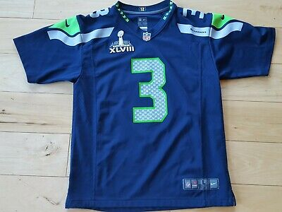 c8937c5e BRAND NEW RUSSELL Wilson #3 Seattle Seahawks YOUTH M-L-XL Nike ...