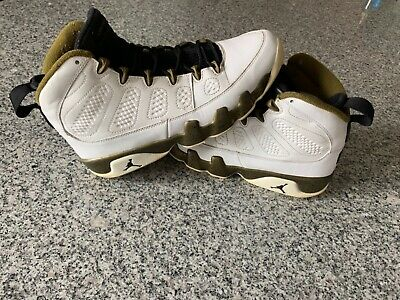 d0e3e5a22e48 Nike Air Jordan 9 IX Retro Statue Black-Militia Green Men s 302370-109 Size