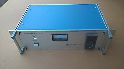SAES GETTERS Rare GAS Purifier Controller Unit Heated+Thermo System 852 nitrogen