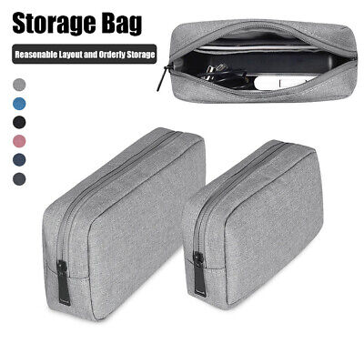 Digital Accessories Travel Storage Bag USB Cable Earphone Organizer Makeup Case