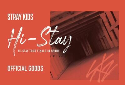 Stray Kids Hi-Stay Tour Finale In Seoul Goods Portrait Photo & Stamp Sticker Set