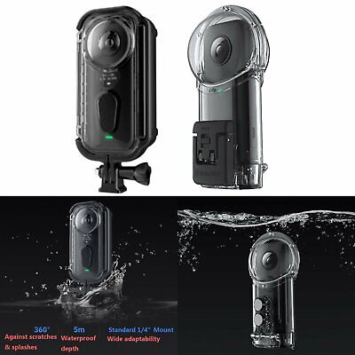 Waterproof Diving Surfing Protective Case Cover For Insta360 ONE X Action Camera
