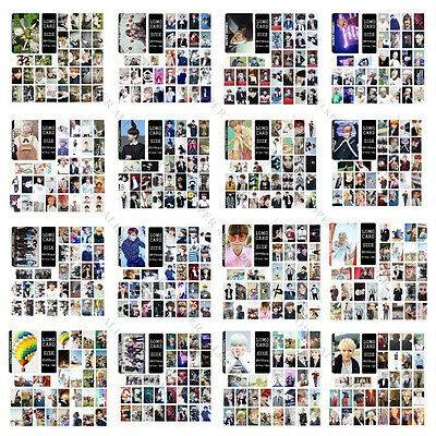 KPOP lot 30pcs BTS Lomo Cards WINGS Jimin Bangtan Boys Jung Kook Photo Poster