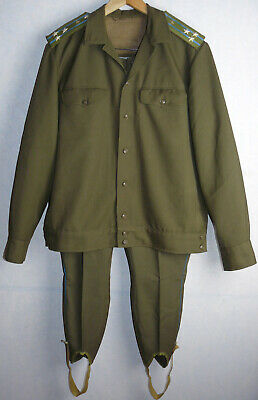 Russian Uniform Daily Jacket Tunic Pants Galliffet Trousers Soviet Army Officer