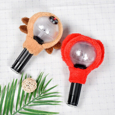 Kpop BTS Cute Army Bomb Ver 3 Headband Lightstick Plush Head Cover V Jungkook