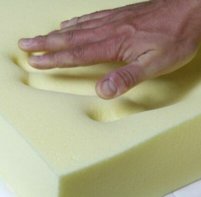 """Memory Foam Cushion Sheets in All Sizes All Thickness 1"""" 2"""" 3"""" 4"""" Cut to Size"""