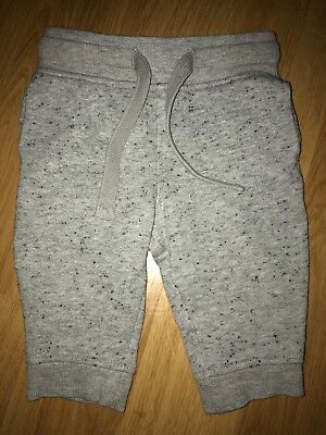 NEXT Baby Boy Clothes Joggers Trousers Grey 3-6 Months