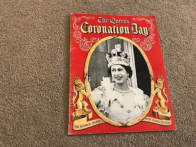 The Queens Coronation Day, , Used; Very Good Book