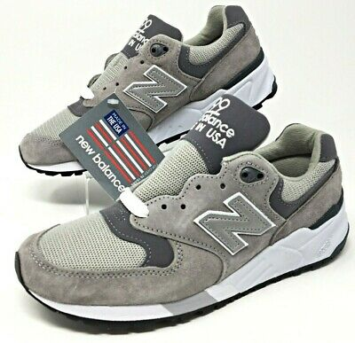 5b26f92e0be37 New Balance NB 999 Made in USA Grey Pewter Suede Mens Size 5.5/Womens 7