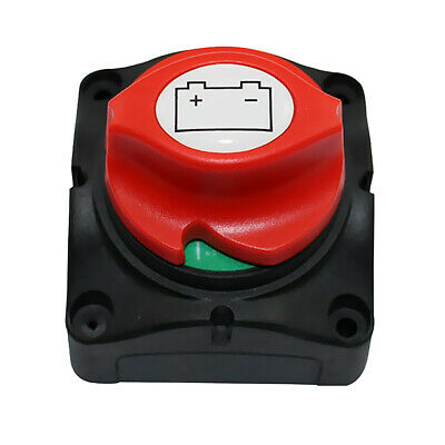 400A Battery Isolator Disconnect Power Switch for Car Boat Cut On/Off