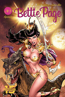 Bettie Page Unbound #3 Cover A Dynamite Comics PREORDER - SHIPS 31/07/19