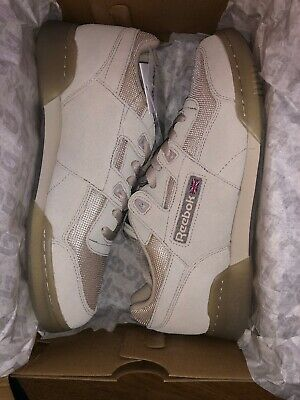 93e7c1fc7a9 UNISEX REEBOK WORKOUT Plus TN - BS8440 - Beige Trainers -  103.06 ...