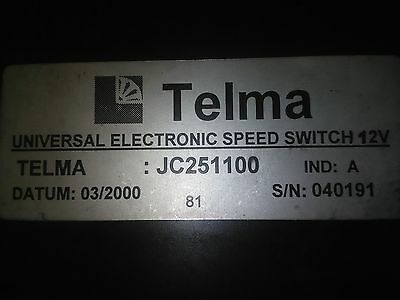 TELMA Speed Control Switch  JC251100  12V New Old stock