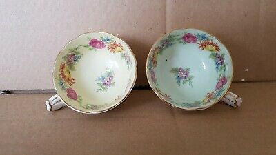 Vintage Paragon Stunning pair of cabinet cups  perfect