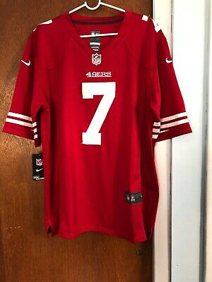 464fe08d9 Colin Kaepernick San Francisco 49ers  7 Nike On Field NFL Jersey Size Large  Red