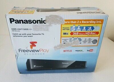 PANASONIC DMR-HWT150EB 4k SMART FREEVIEW 500GB HDD TWIN TUNER RECORDER hdd error