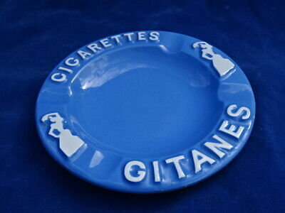CENDRIER PUBLICITAIRE / Ashtray - VINTAGE - GITANES - NEUF / Unused - TOP+++ !