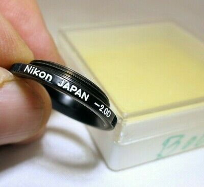 Nikon Oculaire Dioptrie -2.0d 19mm Fm2n Fe2 Caméra Oculaire Correction Objectif