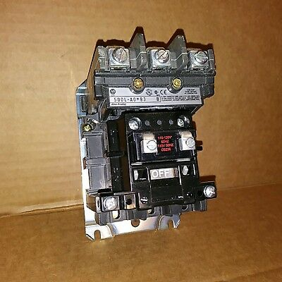 Allen Bradley 500L-AOD93 AC Lighting contactor 20AMP 110/120VAC - New