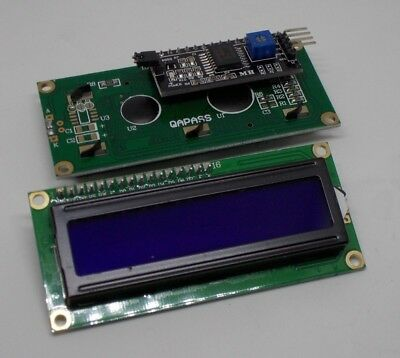 Modulo-display-LCD-1602-16X2 retroil blu + interfaccia seriale I2C/IIC X ARDUINO