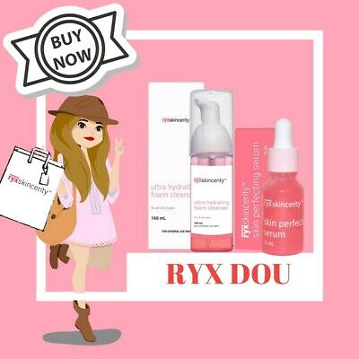 RYXskincerity Foam Cleanser and Perfecting Serum SET  USA SELLER