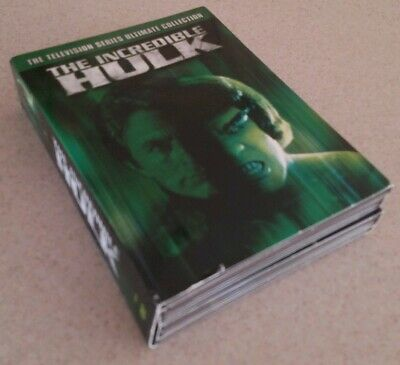 The Incredible Hulk - The Television Series Ultimate Collection Marvel VERY GOOD