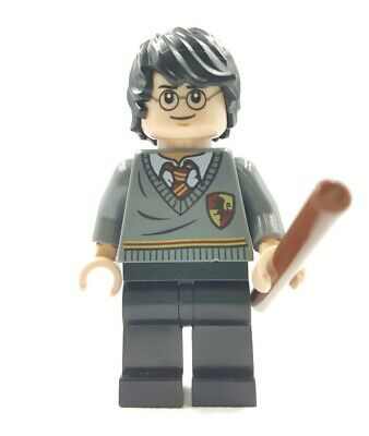 Lego Mini Figurine Harry Potter Gryffondor Dimensions Team W/Baguette Magique
