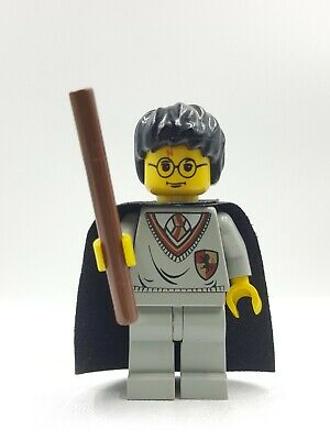 Lego Mini Figurine Harry Potter Gryffondor Bouclier Star Cap Baguette Magique