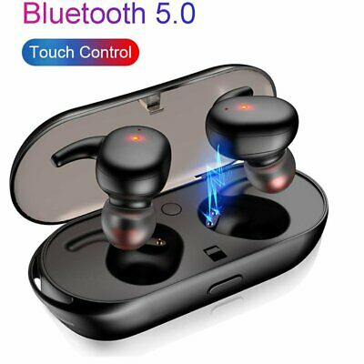 Mini TWS Bluetooth Earphone 5.0 Wireless Headset Touch Control Stereo Earbuds