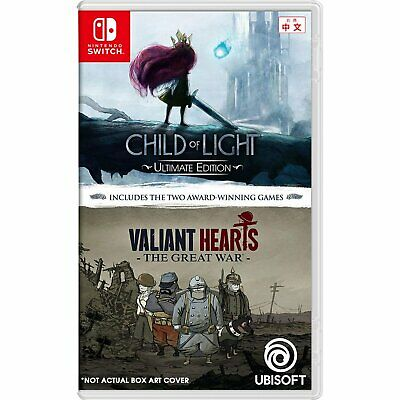 Child Of Light : Ultimate Edition + Valiant Hearts For Switch NS (Eng/Chi Sub)