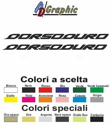 Adesivi adesivo 2.PZ Stickers decal sticker aprilia dorsoduro