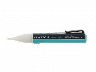 Kewtech Kewstick Duo Non-Contact Dual Sensitivity Voltstick Voltage Detector Pen