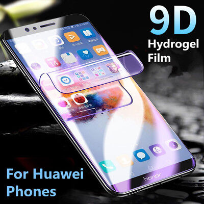 9D Full Screen Protector Hydrogel Film For Huawei P30 Pro Lite Mate 20 Pro DE SH