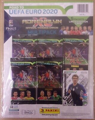 Road To Euro 2020 ~ Panini Adrenalyn XL ~ Multipack Inc Antoine Griezmann Ltd Ed