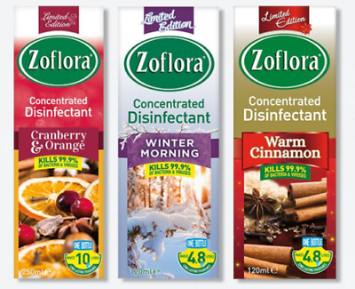 Limited 120ml 250ml ZOFLORA CONCENTRATED ANTIBACTERIAL Disinfectant Mrs Hinch