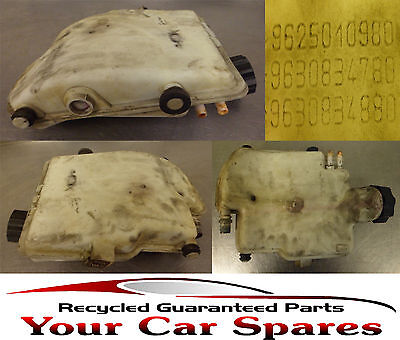 Peugeot 206 Expansion Bottle 1.9D 9625010980