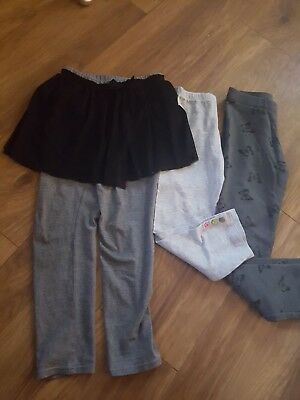 Lovely Bundle Of Girls Leggings X3 Items, Age 6-8 Years Incl M@S