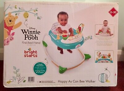 Disney Baby Winnie The Pooh Happy As Can Bee Walker from Bright Starts Brand New