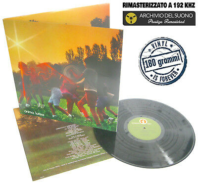 LUCIO BATTISTI Anima Latina (1974) LP VINYL 2018 Remastered at 24/192 KHz 180gr