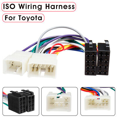 CAR RADIO STEREO CD PLAYER WIRING HARNESS ADAPTER CABLE FOR