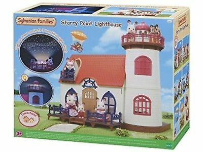 Sylvanian Families Starry Point Lighthouse Play Set - Tracked P&P