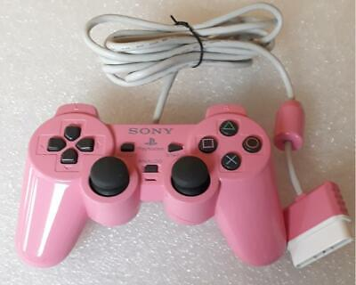 Original Sony Play Station 2 PS2  DualShock 2 SCPH-10010 Rosa