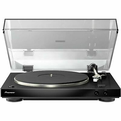 Pioneer PL-30-K Turntable with Dual-Layered Chassis and Built-In Phono Equalizer