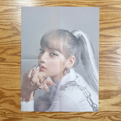 Lisa Official Mini Poster BlackPink Kill This Love Folded Kpop Genuine