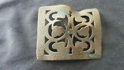 Very beautiful Post med/Tudor openwork adornment. Please read description. L134e